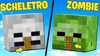 CASA SCHELETRO vs CASA ZOMBIE su Minecraft ITA