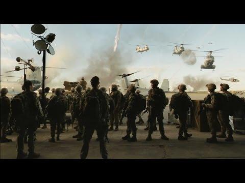 世界侵略 : ロサンゼルス決戦 2/12 - YouTube