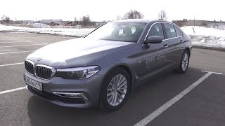 2017 BMW 520d xDrive G30. Обзор (интерьер, экстерьер, двигатель)