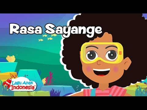 Lagu Rasa Sayange Maluku | Lagu Anak Indonesia | Lagu Anak Anak