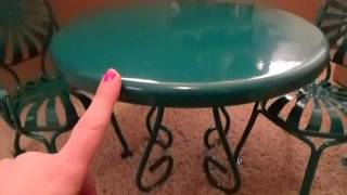 *opening* + Review Kit's Table & Chairs (part 1)