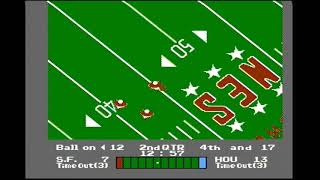 NES Play Action Football (NES) Playthrough [Part 4/4]