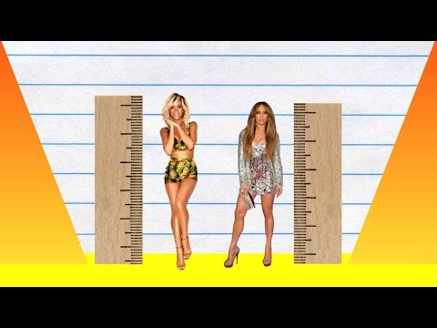 How Much Taller? - Rihanna Vs Jennifer Lopez!