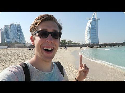 Exploring Dubai & the Burj Al Arab | Evan Edinger Travel Vlogger