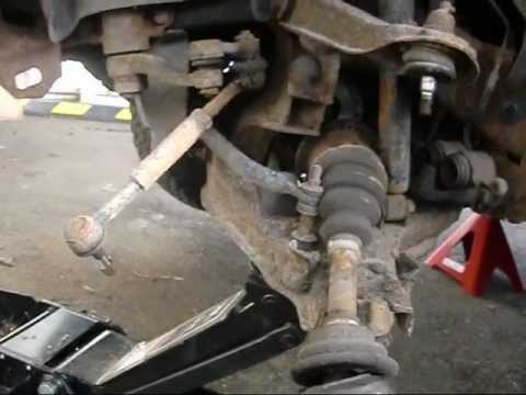 1 25 12 repairing nissan hardbody youtube 240SX Front Suspension 1 25 12 repairing nissan hardbody