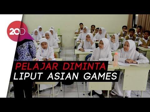 Sandiaga Wacanakan Libur Sekolah Saat Asian Games