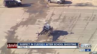 Suspect in custody after shooting at Texas high school