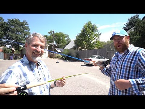 Trouts Fly Fishing: EPIC Lunchtime Casting Contest!
