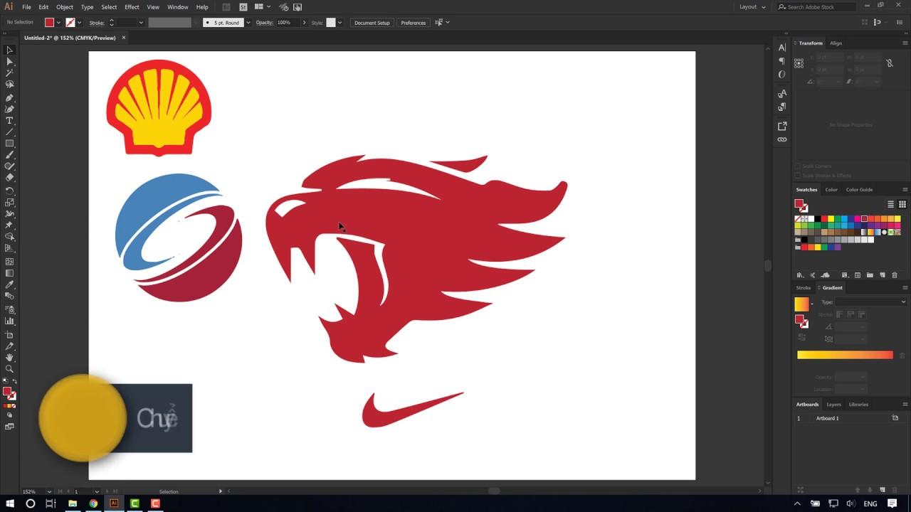 Chuyển đổi ảnh Bitmap sang ảnh vector với Adobe Illustrator (4K-Ultra HD)