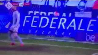 Mbwana Samatta goal  KRC Genk 4   1 Oostende