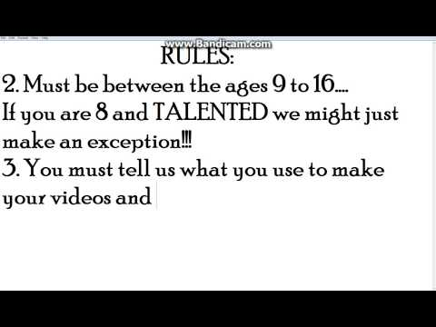Auditions For SAK's Channel SevenTalentedKids!!! (OPEN)