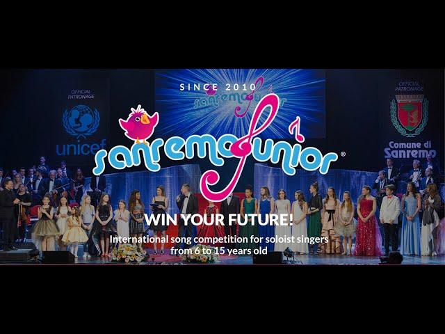 World Finals of sanremoJunior 10th edition, 2019 - Promo Video