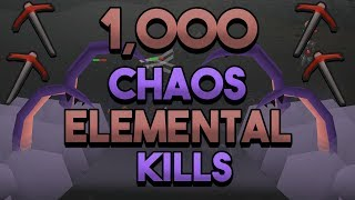 Loot From 1,000 Chaos Elemental
