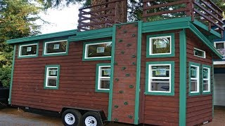 Adventure-seekers Will Love This Tiny House From Molecule Tiny Homes