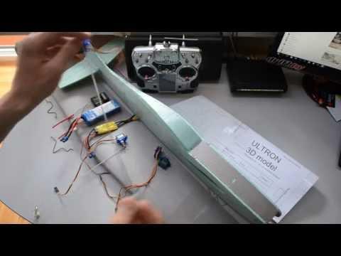 Авиамоделирование или как сделать самолет своими руками (4 часть Установка электроники)