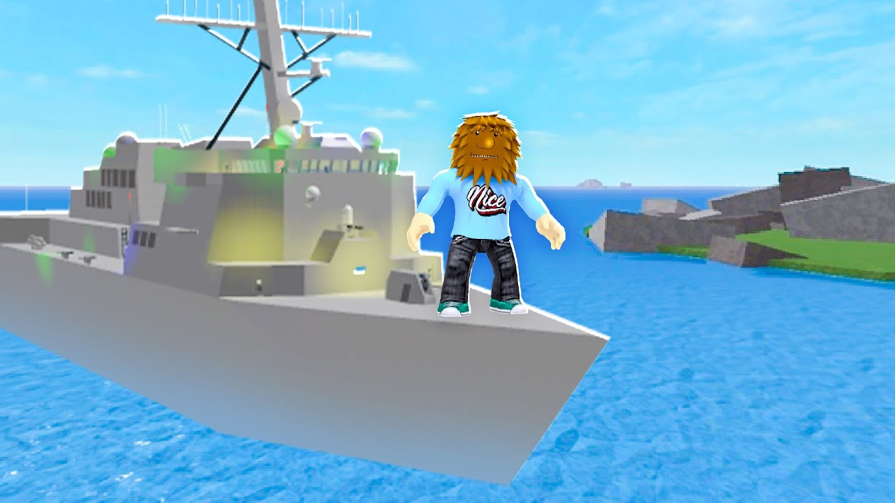 Joining The NAVY In Roblox | JeromeASF Roblox