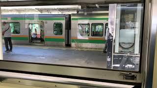 C6120 SLぐんまみなかみ号 ばんえつ物語 蒸気機関車 高崎駅にて 窓の開け方 特殊すぎる steam locomotive