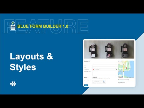 Layouts & Styles | Blue Form Builder | Magento 2 Form Builder Extension