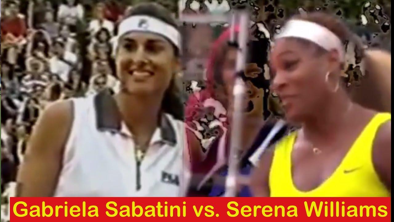 Gabriela Sabatini vs Serena Williams 🎾