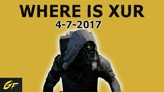 destiny xur location 4 7 2017   exotic armor weapon review   invective exotic shotgon