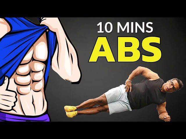 10 Min Abs Workout | Get 6 Pack Abs | Yatinder Singh