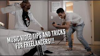 MUSIC VIDEO TIPS & TRICKS | FREELANCE VIDEOGRAPHERS
