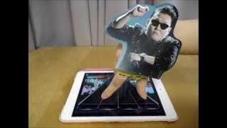 PSY dancing on Rhythm Master 節奏大師