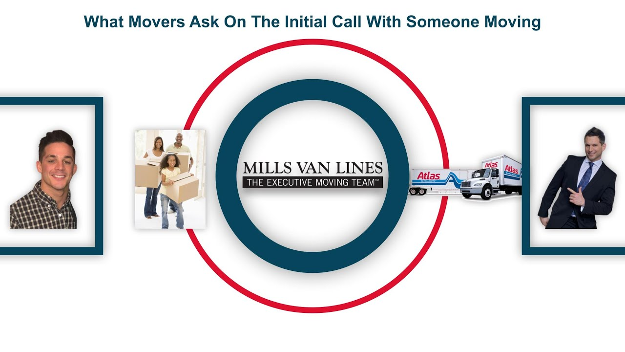 Initial Call Questions When Moving House