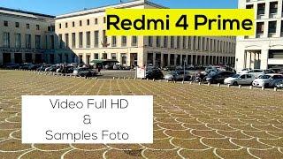 DEMO VIDEO/FOTO - Xiaomi Redmi 4 Prime