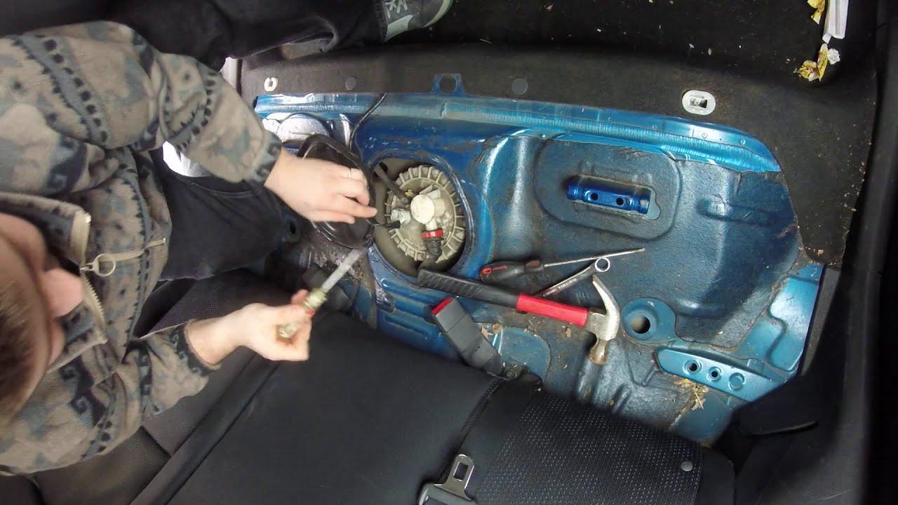 2007 Toyota Corolla Fuel Filter Location 2001