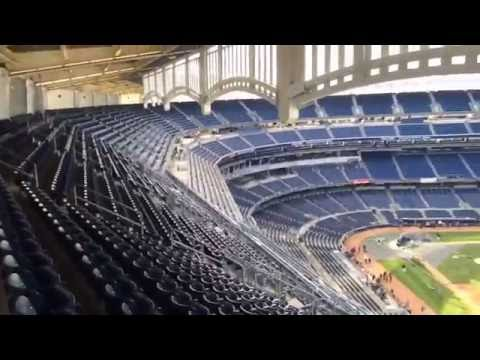Yankee Stadium Tour: Boston Red Sox reporter Christopher Smith tours Yankee Stadium, Monument Park