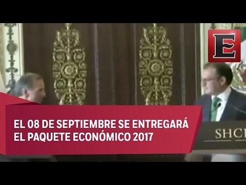 Entrega-recepción de la Secretaría de Hacienda