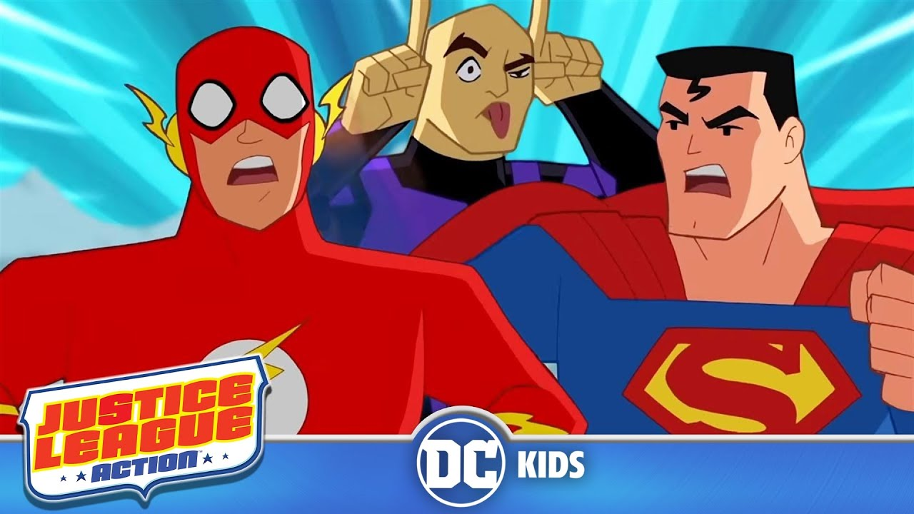 Download Justice League Action   Lex Luthor Stops Time   @DC Kids
