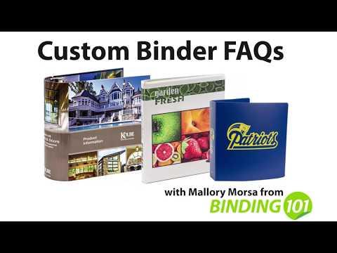 Binding101 Custom Binder FAQ