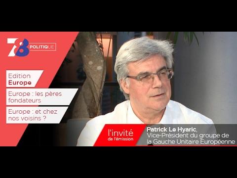 7/8 Politique – émission du 27 janvier 2017 avec Patrick Le Hyaric (PCF)
