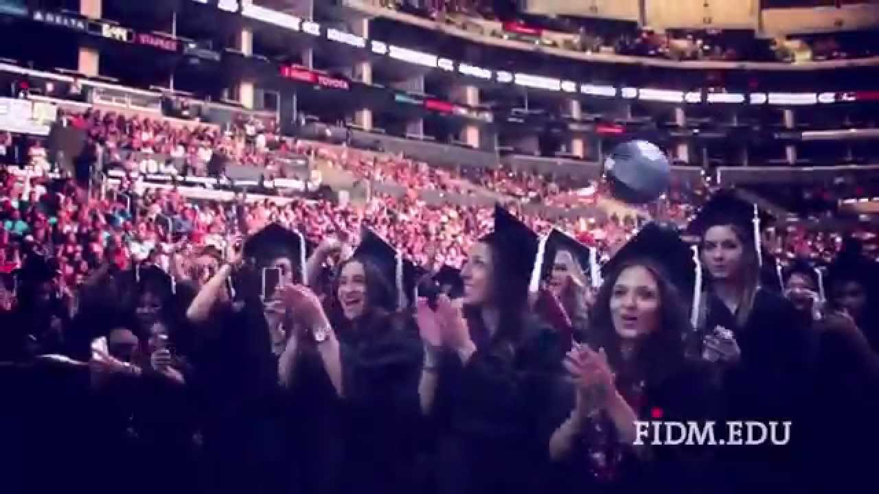 Graduation 2014 Fidm Fashion Institute Of Design Merchandising Youtube