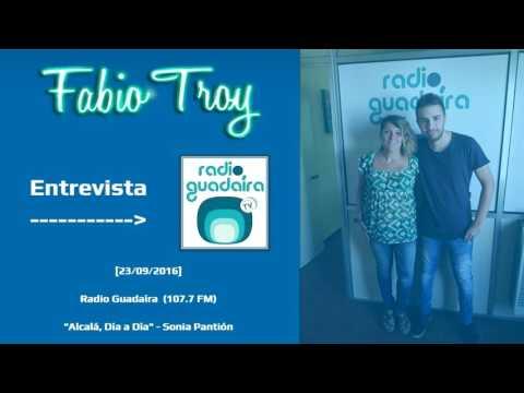 """Fabio Troy - Entrevista Radio Guadaíra """"Alcalá, Día a Día"""" (23/09/2016)"""