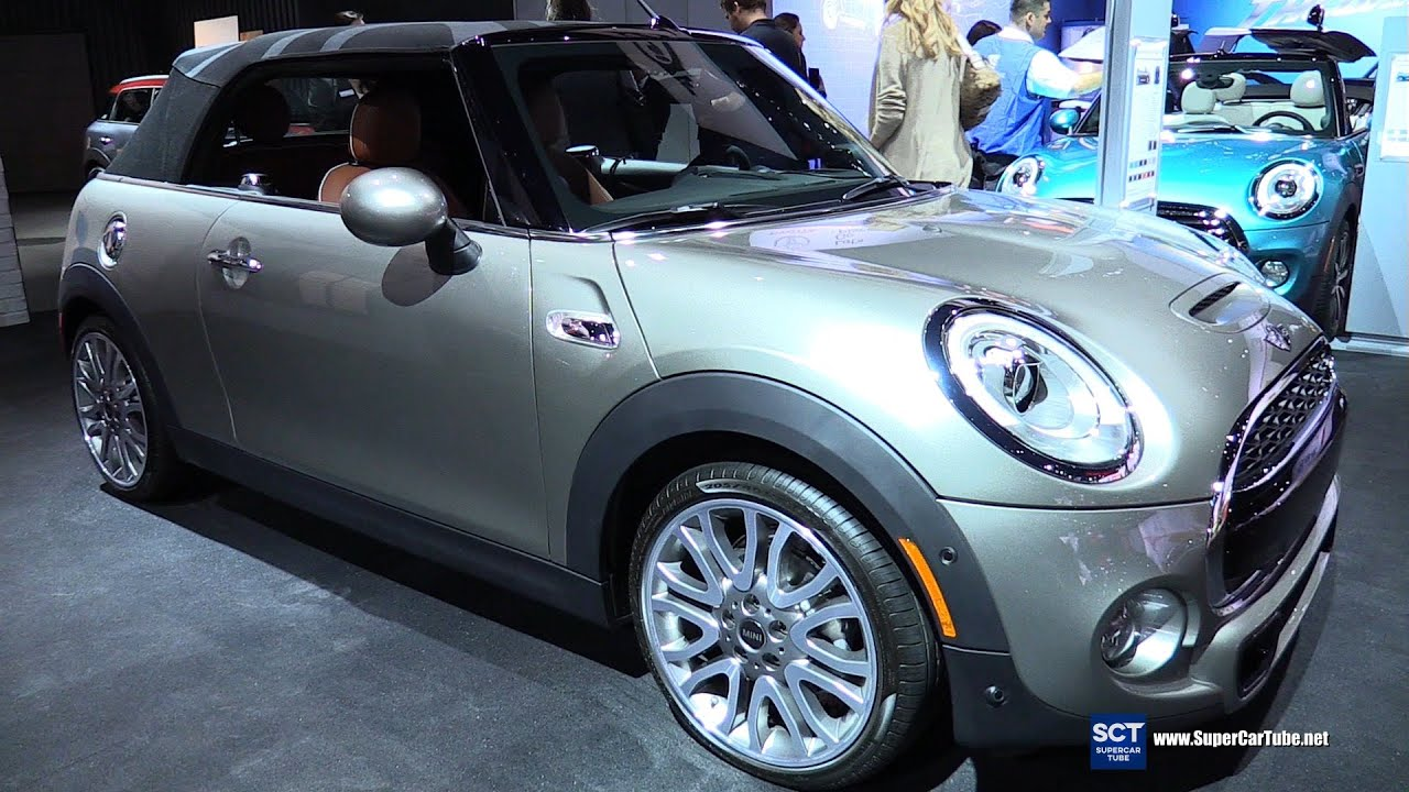 2016 Mini Cooper S Convertible Exterior And Interior Walkaround 2015 La Auto Show Youtube