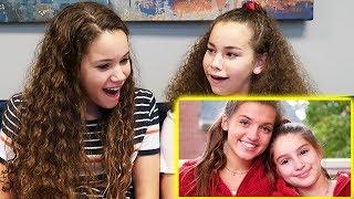 "Sierra & Olivia REACT to ""I Got Your Back"" (Mimi x Daniela)"