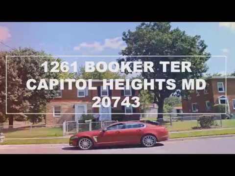 1261 BOOKER TER, CAPITOL HEIGHTS, MD 20743 F Herboso Listing Agent 301-246-0001