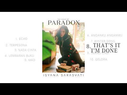 Isyana Sarasvati - That's It, I'm Done
