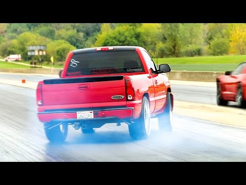 DON'K TRY THIS! TWUNNY SIXES! WHIPPLE SC LS3! '05 CHEVY VS VETTE!
