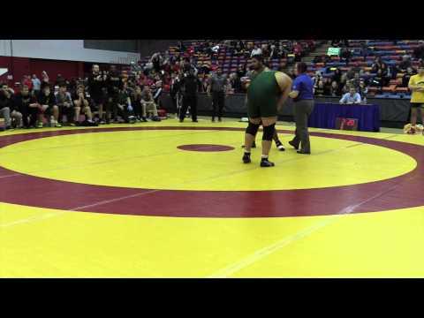 2015 Canada West Championships: 120 kg Luke Launderville vs. Saheel Khan