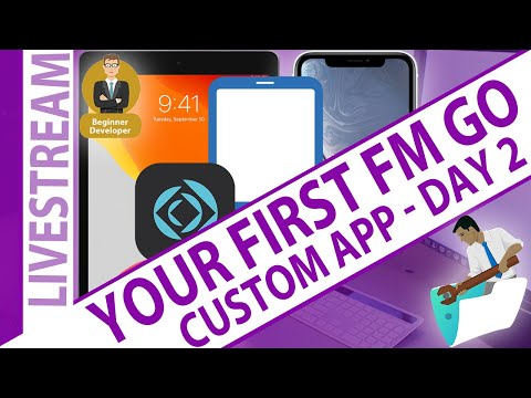 Day 2 - Your first FileMaker Go Customer App... what to expect for beginners
