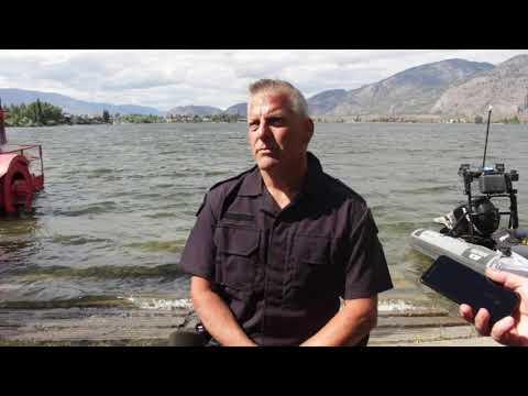 Osoyoos RCMP Sgt. Bayda On Osoyoos Lake Boat Collision