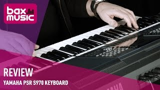 Yamaha PSR S970 keyboard - Review