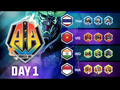 Free Fire Asia All-Stars 2020 | DAY 1