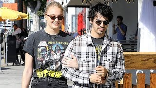 Sophie Turner Confesses She's The One Singing Love Songs For Joe Jonas - EXCLUSIVE