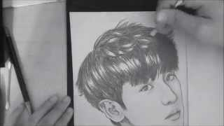 Speed Drawing - EXO (엑소) Chanyeol (찬열)