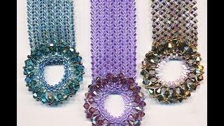 Center Stage Bracelet - Herringbone/Ndebele